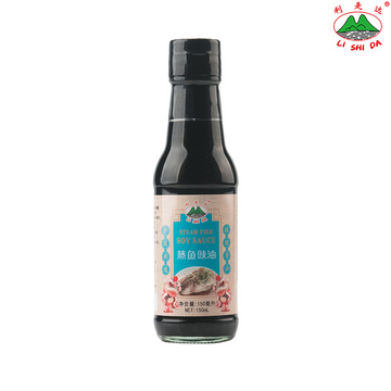Steamed Fish Soy Sauce 150ml Glass Bottle