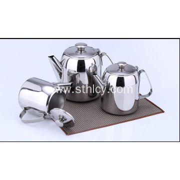 Stainless Steel Cold Water Teapot Coffee Pot