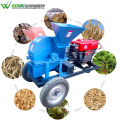 Weiwei mobile wood chipper hammer mill