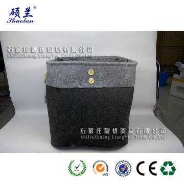 Hot selling customized felt storage box basket