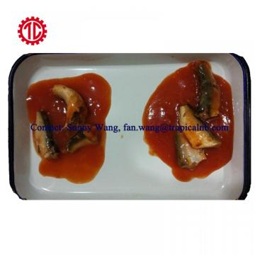 Hot Spicy Canned Sardine Fish In Tomato Sauce