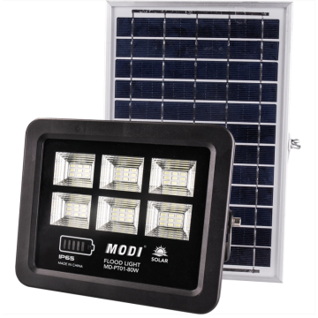 Energy-saving waterproof solar flood light