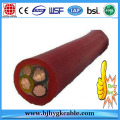 CE Listed 50mm2 70mm2 Rubber/CPE/Epr Sheathed Flexible Copper Welding Cable