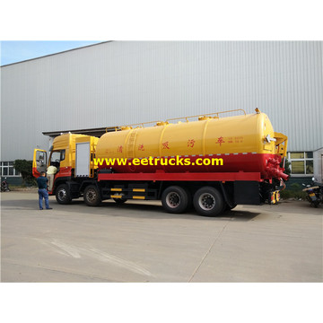 DFAC 12 Wheel Cleaning & Fecal tank trucks