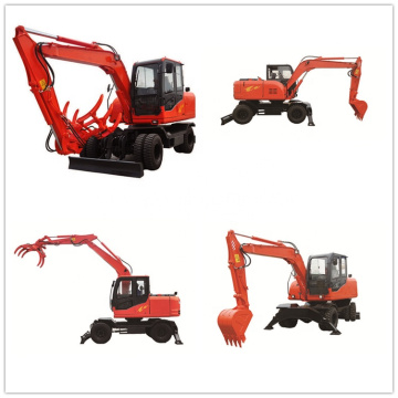 Multi-Function Mini Backhoe Loader Front with Quick Hitch