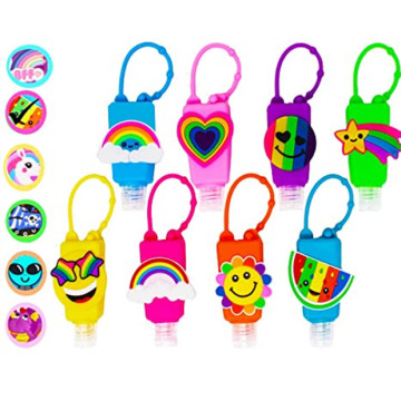 Empty Mixed Kids Hand Sanitizer Travel Size Holder