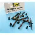 Drawing processing knurling hardware parts machining