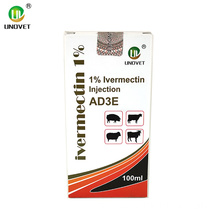 Pharma Injectable Dosage 100ml Ivermectin for Injection