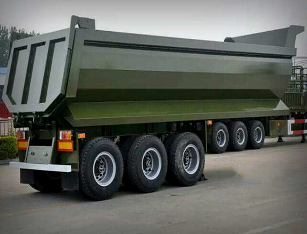U Shape Dump Trailers