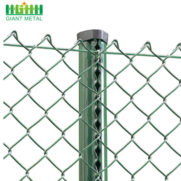 Hot Dipped Galvanized Used Chain Link Fence For Sale