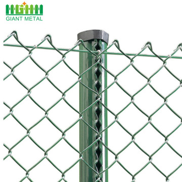 Factory Price Supply PVC Coated Chain Link Fencing