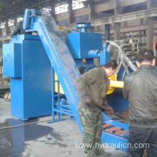 Horizontal Steel Turnings Briquetting Press for Recycling
