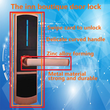 Smart apartment door lock