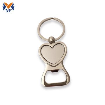 Mini bottle opener keychain for wedding favor