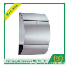 SMB-013SS Building Construction Materia Oem Wall Mounted Mailbox Aluminium Cast Iron Manufacturers