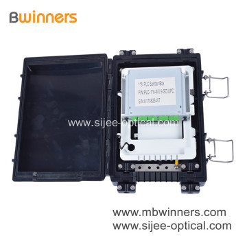 FTTH 24 Cores Fiber Optical Distribution Terminal Box IP65 Splicing Closure