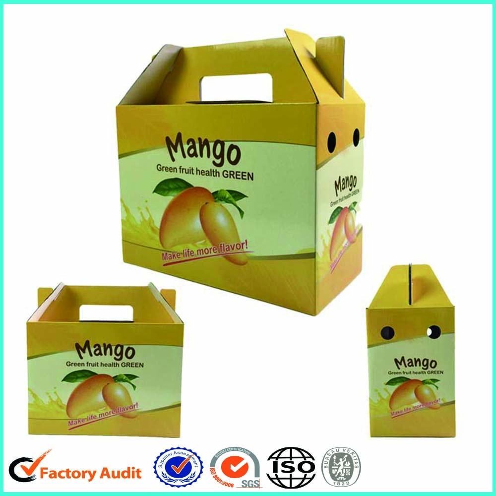 Mango Fruit Carton Box Zenghui Paper Package Industry And Trading Company 12 6