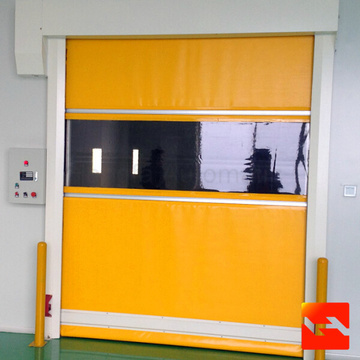 High Speed Door With Transparent Window