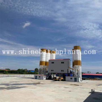 Big Capacity Concrete Mix Batch Equipment
