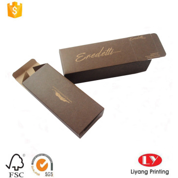 Cheap foldable kraft paper sunglasses packaging box