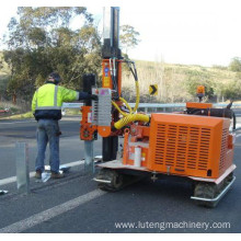 High Quality Pile Driver For Guardrail Post