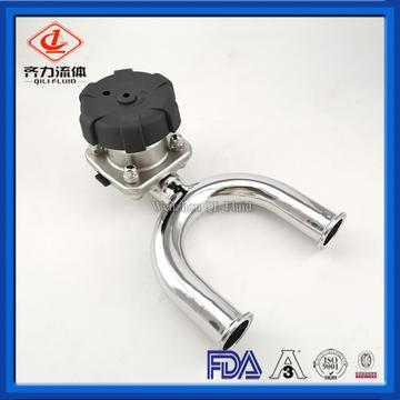 Sanitary U-type diaphragm valve
