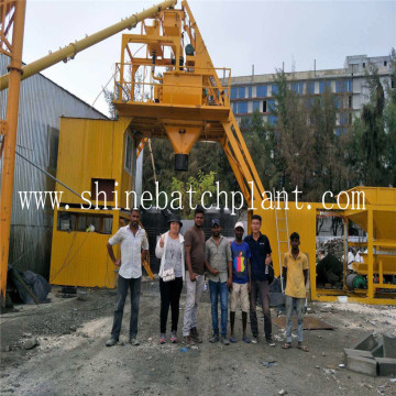 25 Mobile Concrete Batching Equipment