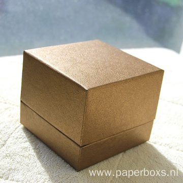 Custom Fancy Paper Watch Box With Lid