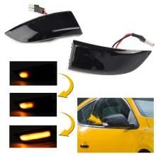 LED Dynamic Turn Signal Light Side Mirror Blinker Indicator Light For Renault Megane MK3 Scenic Fluence Latitude Safrane