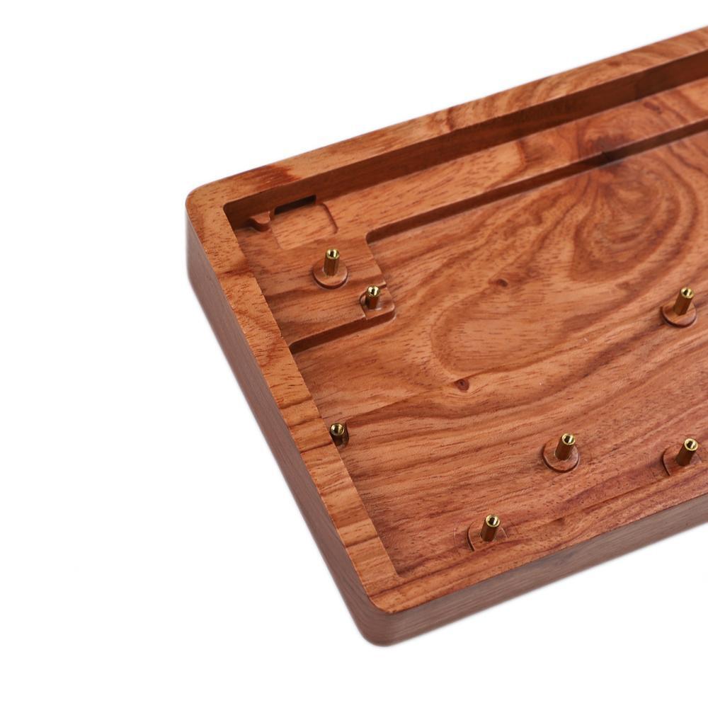 CNC Wood Wooden Case ID75 Keyboard Wooden Kit Hotswap