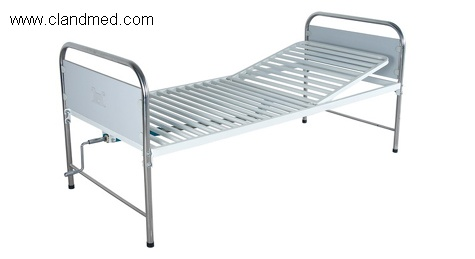 Double-folding bed
