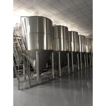 Stainless steel craft brewing beer fermenter