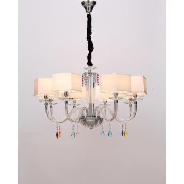 Modern Minimalist Bedroom Decoration Glass Chandelier