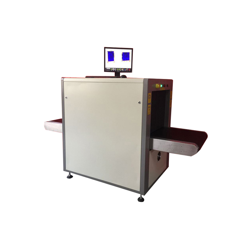 airport security x-ray baggage scanner