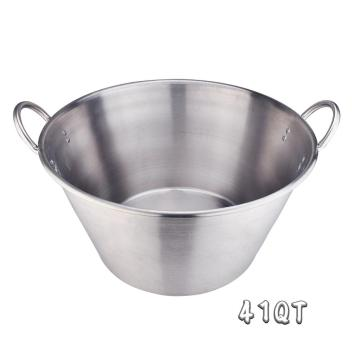 41Quart Heavy Duty Stainless Steel Large Cazo Comal