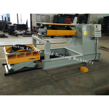 5Ton Hydraulic Decoiler With Trolley
