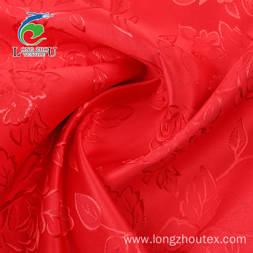 Jacquard Dull Satin Without Twist Fabric