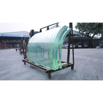 Curved Tempered Laminated Glass Price