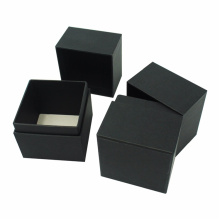 Custom Black Cardboard Packing Cosmetic Box