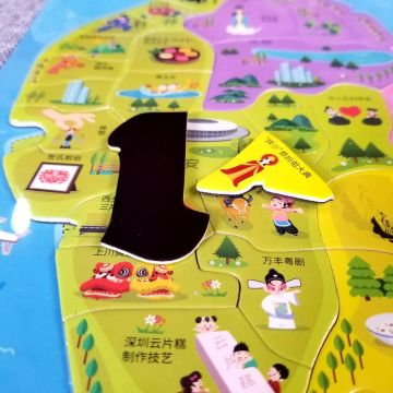 Custom hot sale mini baby 48pcs educational puzzle