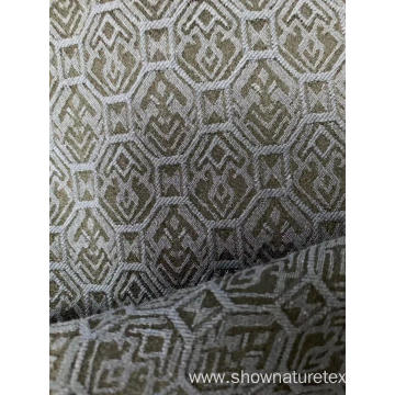 Cotton Polyester Jacquard Spandex Fabric