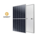 166mm half-cut Cells Mono Solar Panel 355 375W