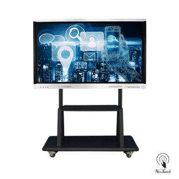 65 Inches 4K Multi-touch Display with mobile stand