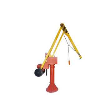 180 Degree Rotating Folding Arm Crane