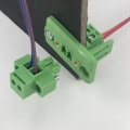28-16AWG plug-in through wall or panel terminal block