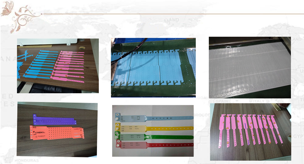PVC Wrist Band making machine