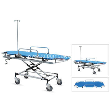 Emergency Hospital Foldable Medical Aluminum Rescue Bed