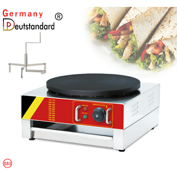 commercial and electric crepe maker with CE