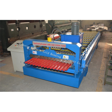 Corrugated Roof And Wall Panel Roll Forming Machine