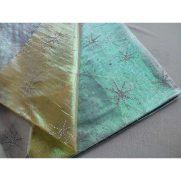 Organdy Foil Fabric for Baby Garment